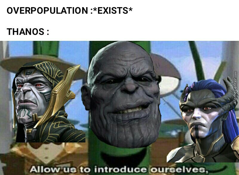 Mad Title(I Know I Didnt Include Ebony Maw And Cull Obsidian)