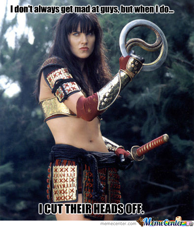 mad xena_o_250932 xena warrior princess memes best collection of funny xena