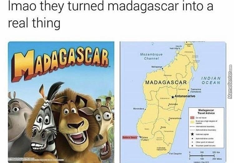 Madagascar Is My Favorite Anime