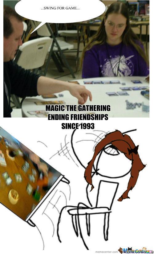 Magic The Gathering, Some Kids Just Never Grow Up!