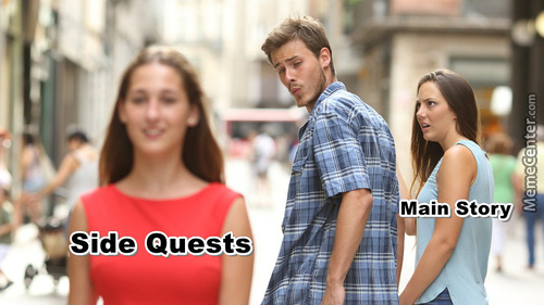 Main Story Vs Side Quests