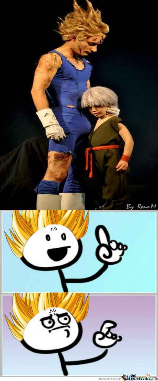 Majin Vegeta Cosplay Fail