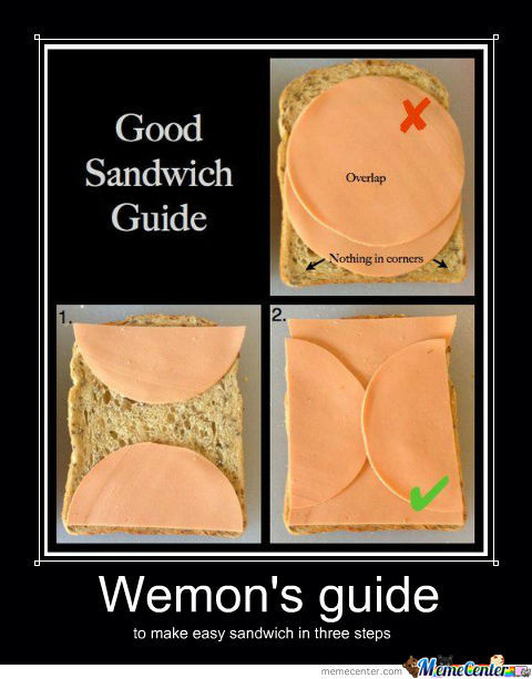 Make A Better Sandwich In Only Three Easy Steps!