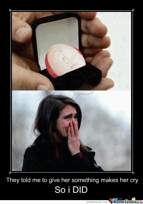 Make Her Cry They Said !!