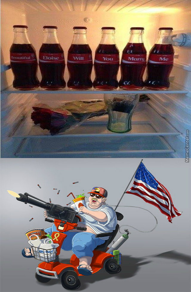Make Love With Coca Cola- Murica