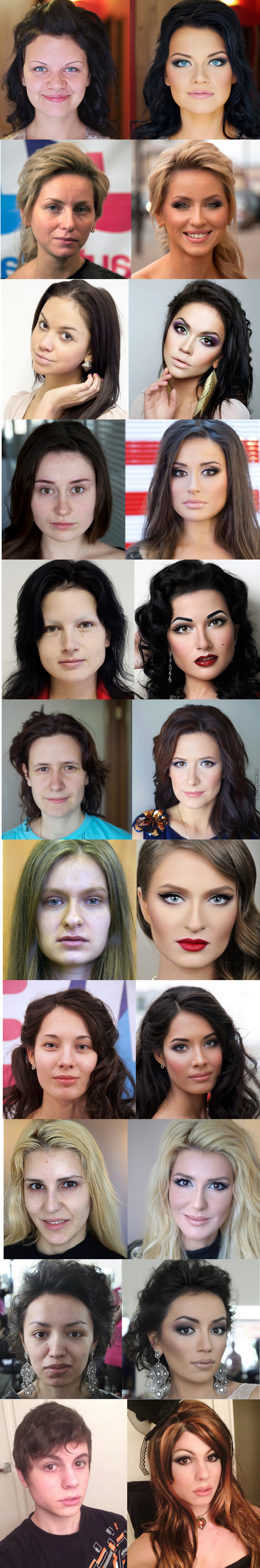 Make Up Party! Before And After