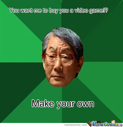 make your own video game_o_655941 make your own video game by cjangles meme center