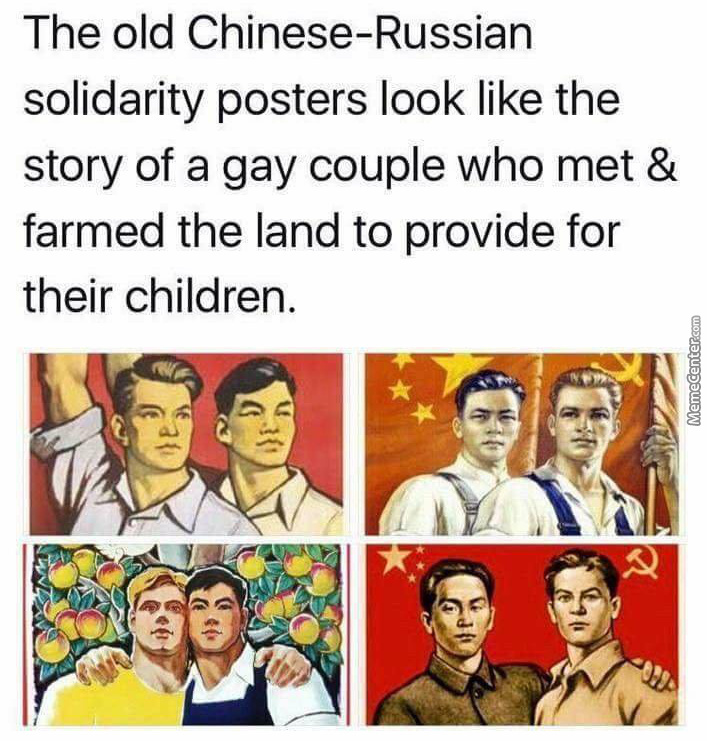Makes Sense, Communism Is Gay Af After All