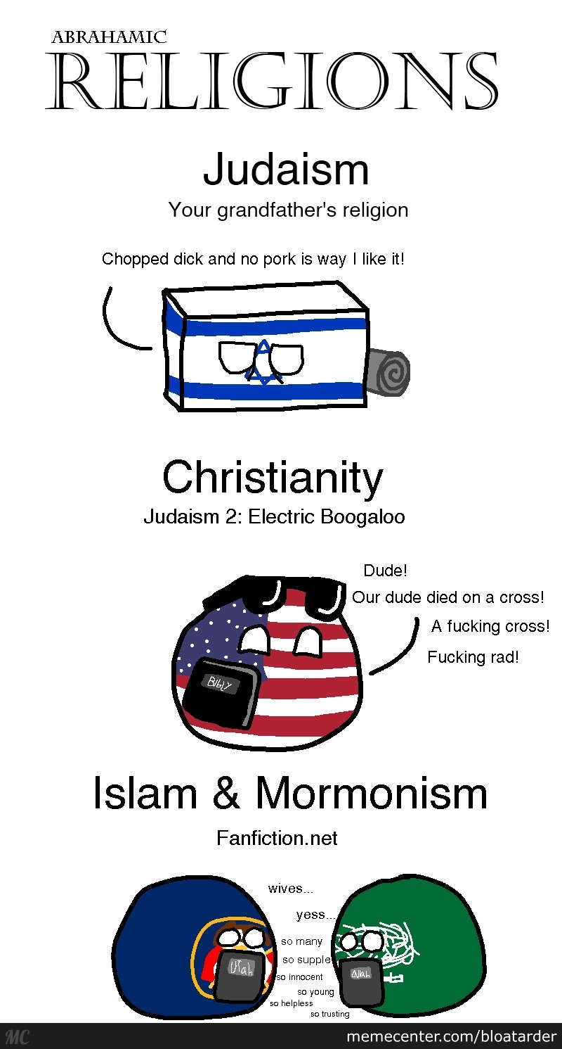 Making Fun Of 4 Religions At Once (Even Mine)
