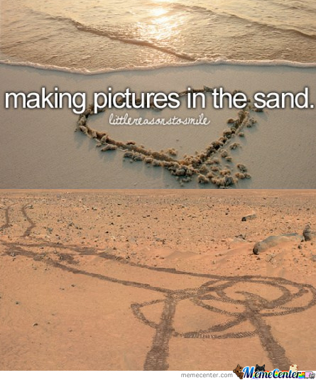 Making Pictures In Mars...