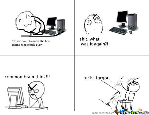 Making Rage Comics..all The Time