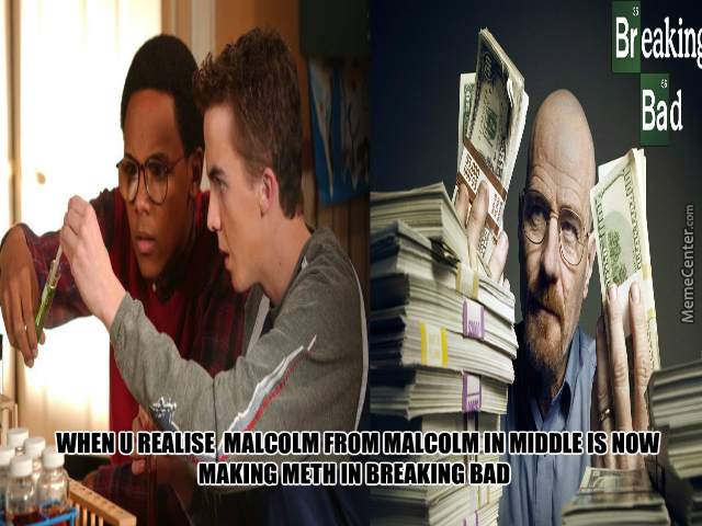 malcolm in middle amp amp breaking bad crossover_o_3534017 malcolm in middle & breaking bad crossover by jayjay94 meme center