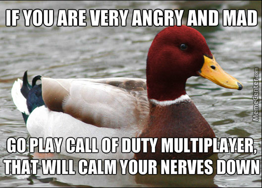 Malicious Advice Mallard: Calm The Nerves