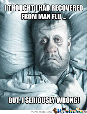 how to get rid of man flu fast