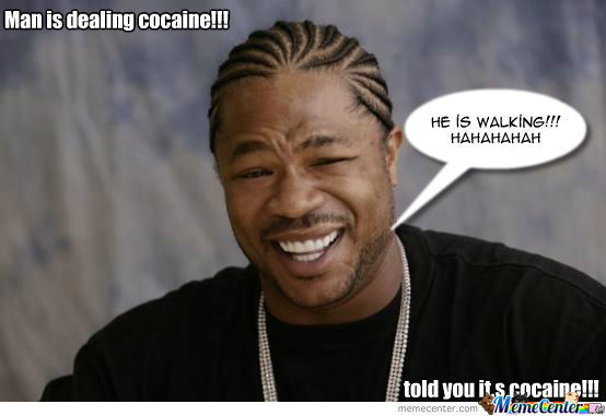 Man Is Dealing Cocaine