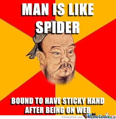Man Is Like Spider