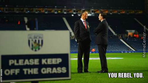 Manchester United Manager.... The Rebel.