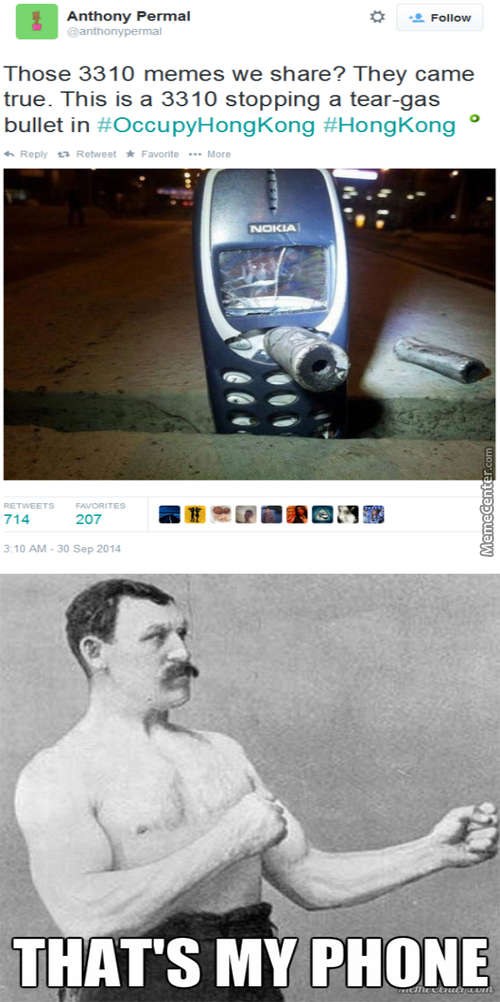 Manly Mans Phone
