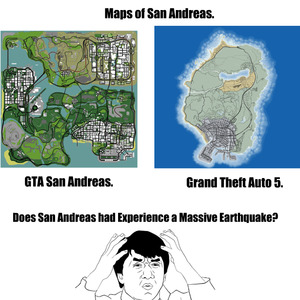 Maps Of Gta San Andreas And Gta 5 by billyguy - Meme Center