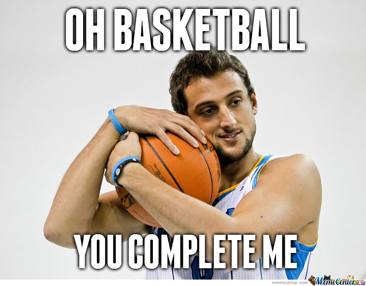 Marco Belinelli Sure Loves His Balls