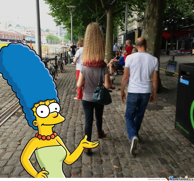 Marge's Blonde Sister