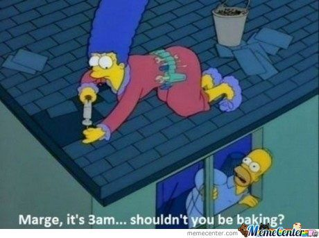 Marge, It's 3Am...