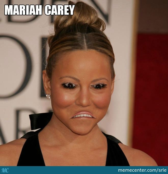 mariah carey_o_2589215 mariah carey by srle meme center