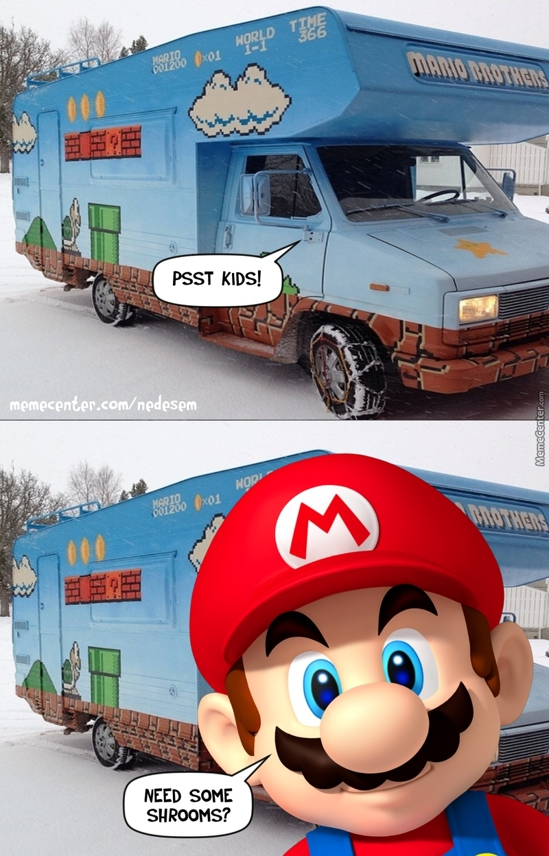 Mario Not Only A Plumber By Nedesem Meme Center