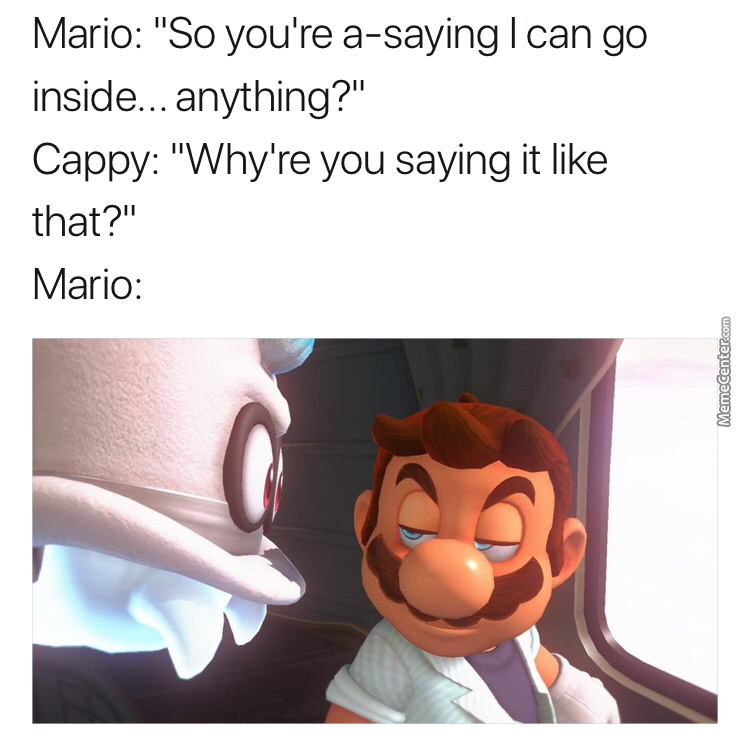 Mario What Are You Insinuating?!