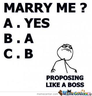 Marry Me(Probably A Repost Not Sure Wont Check)