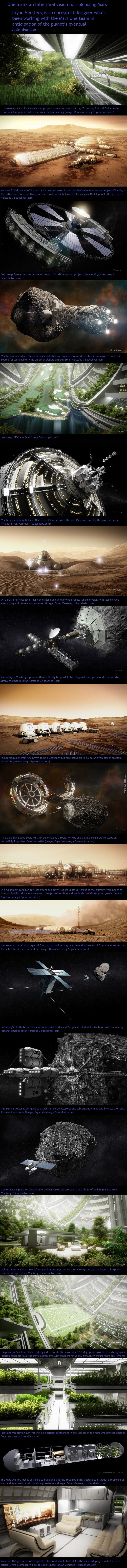 Mars One Conceptual Art
