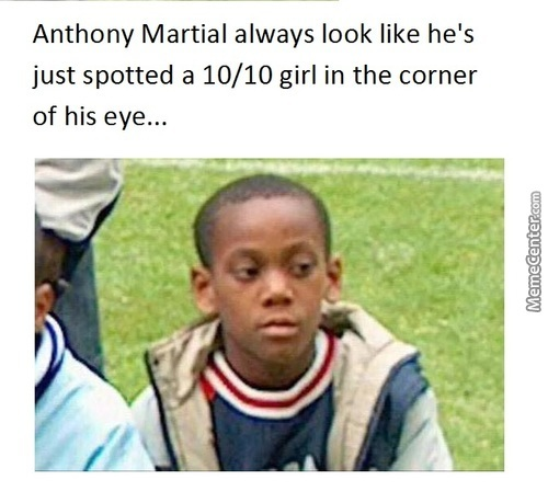 "Martial Be Like ""daym Gurl"""
