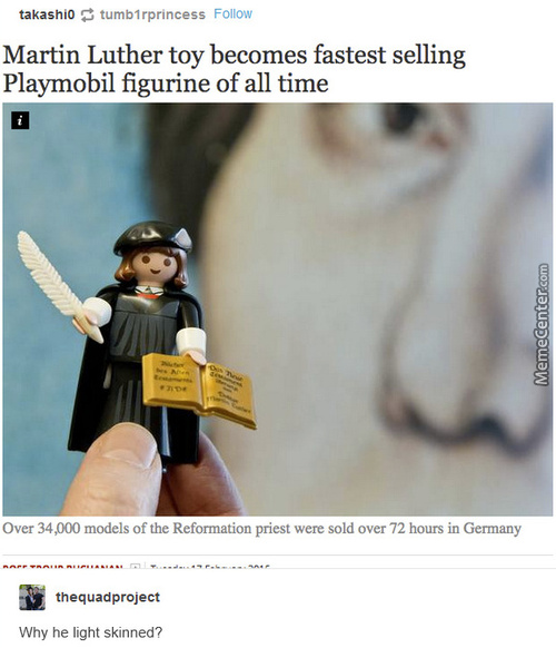 Martin Luther A Light Skin Nigga