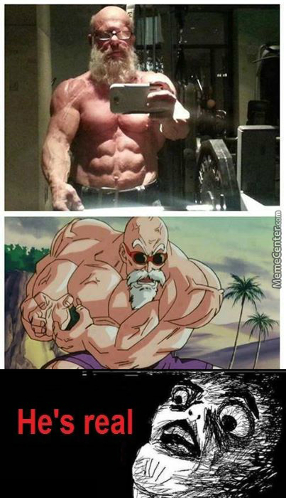 Master Roshi Exists