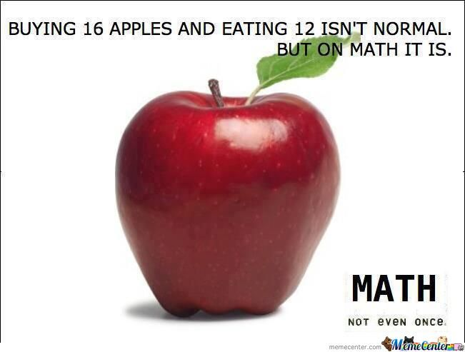 Maths .. Not Even Once