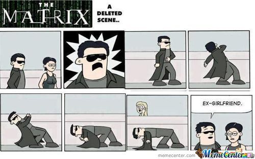 Matrix - Deleted Scene