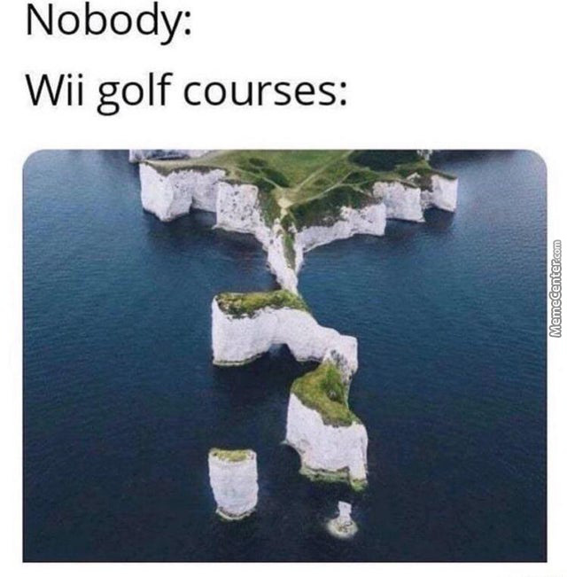Matt Would Still Get A Hole In One Tho
