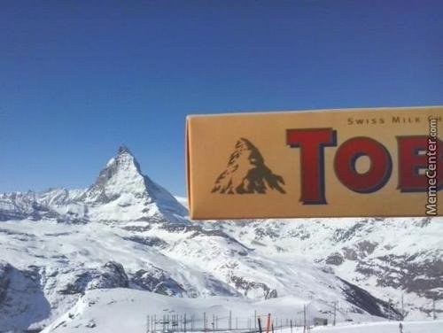 Matterhorn - The Toblerone Mountain