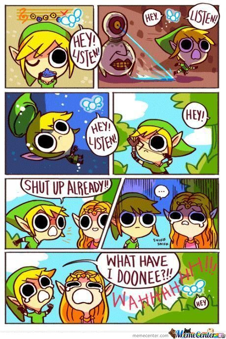 May Be Link Was Annoyed
