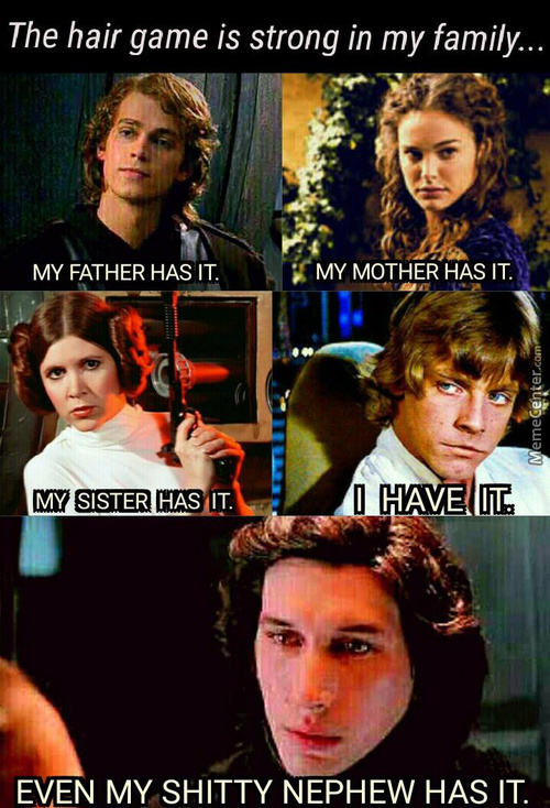 May The Hair Game Be With You