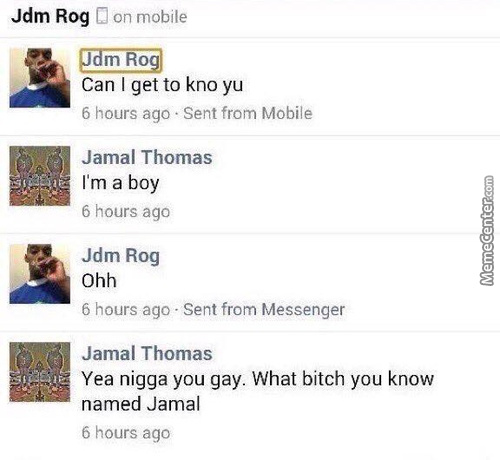 Maybe A Trap Legally Named Jamal