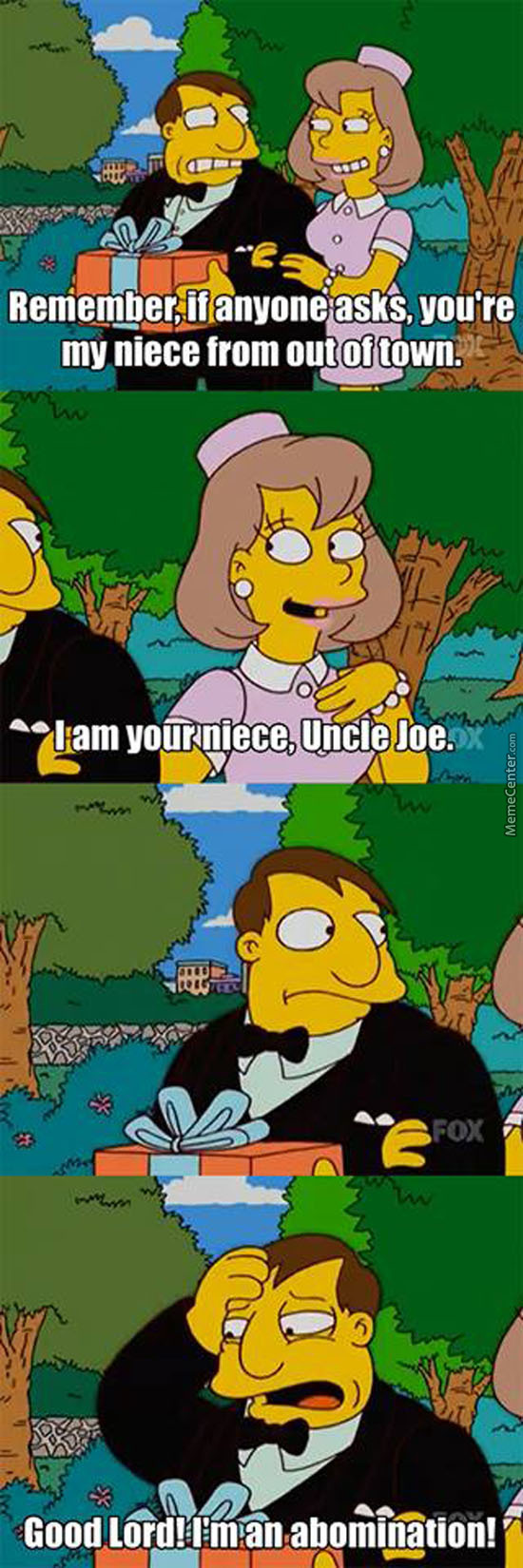 Mayor Quimby Is An Abomination