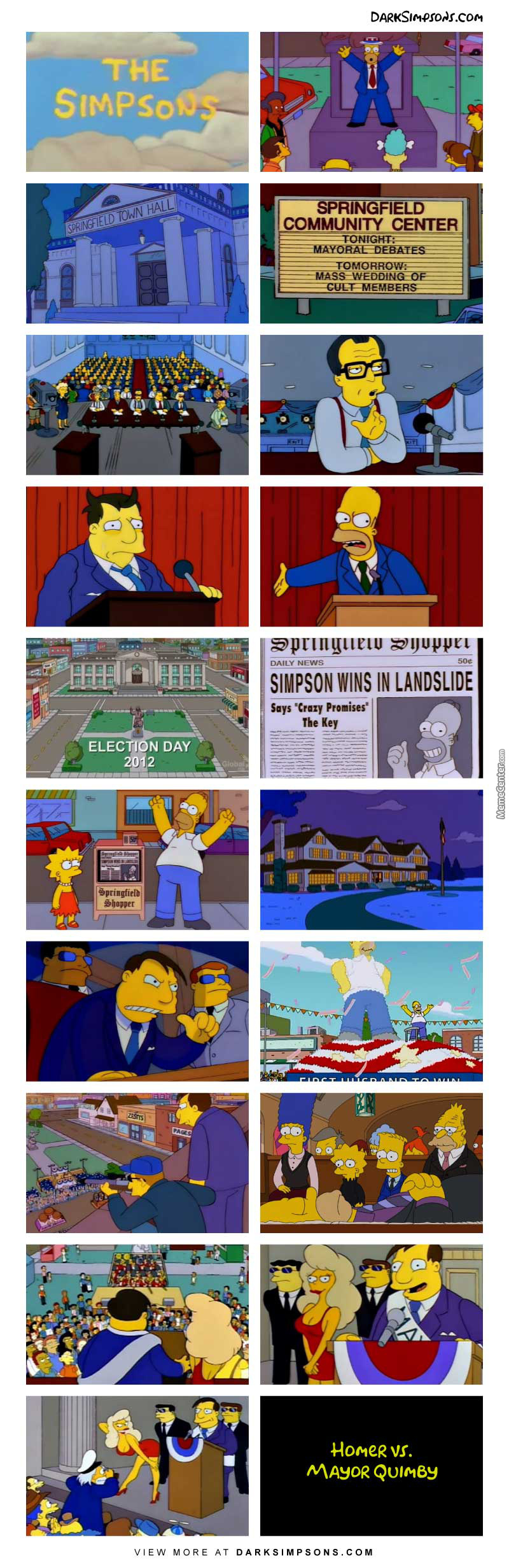 Mayor Quimby: People, Please. We're All Frightened And Horny.
