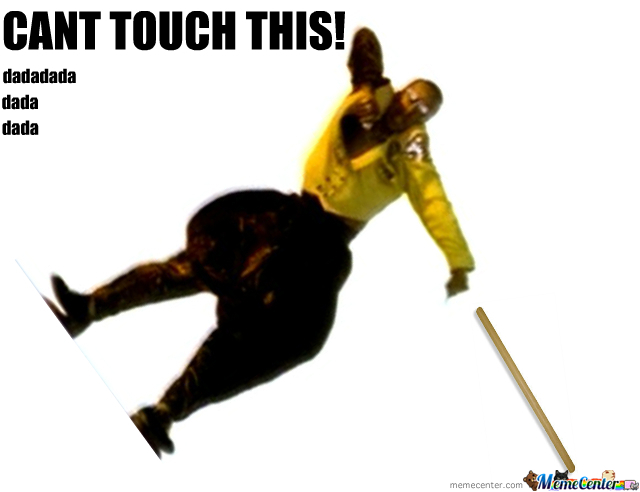 Mc Hammer Cant Touch The Likebutton :(