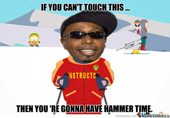 Mc Hammer The Ski Instructor