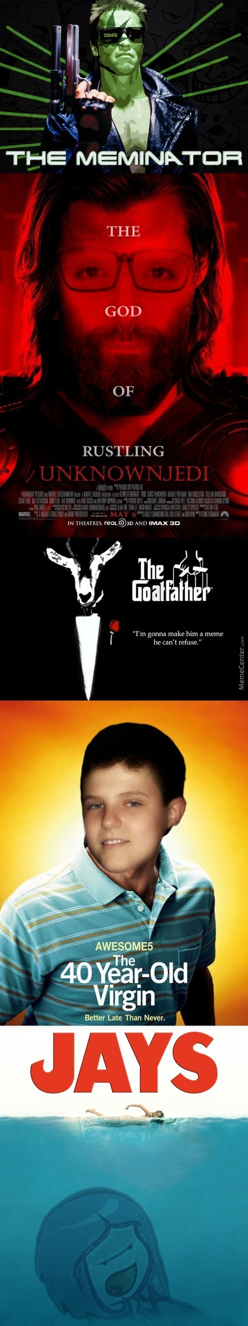 Mc Users In Movie Posters #3