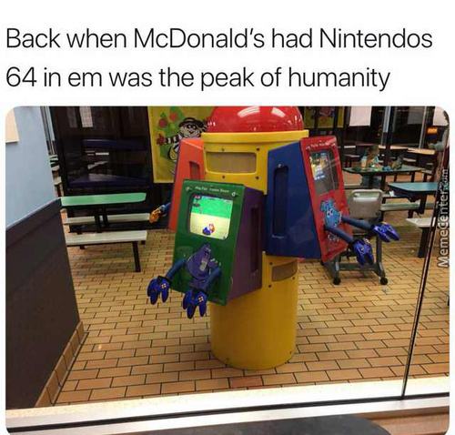 Mcdonalds Is Why I Got Me A N64 Back Then