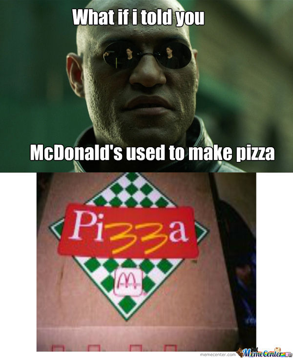 Mcdonald's Pizza