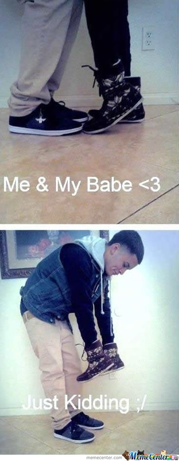 Me & My Babe <3...what?