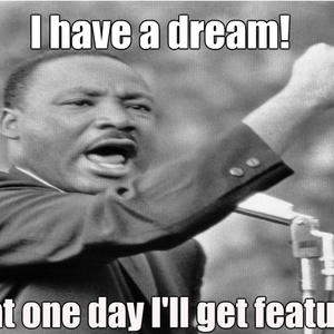 Me And Martin Luther King Jr Have A Dream By Aleksi Heija Meme Center